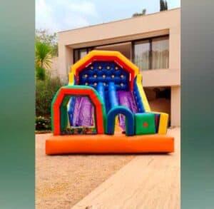 Tobogã Inflável para Locação em Festa Infantil
