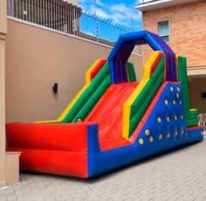 Locação de Tobogã Inflável para Festa Infantil tamanho Mini
