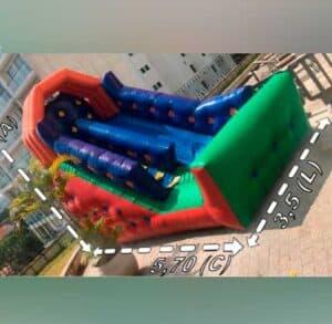 Aluguel de Mini Tobogã Inflável para Festa com 4 Metros e Suas Medidas